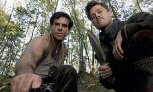 Eli Roth and Brad Pitt in 2009's Inglourious Basterds.