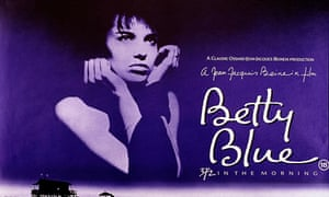 'Iconic': The poster for 1986's Betty Blue.