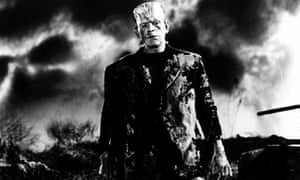 Boris Karloff as the monster in James Whale's 1931 Frankenstein.