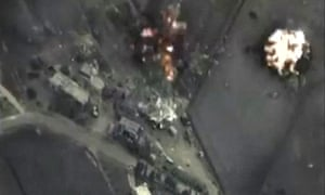 Syria, Russian bombing