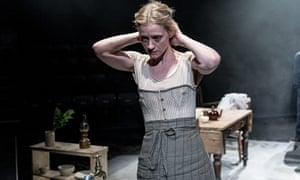 'You seem to see the blood racing beneath her skin': Anne Marie Duff in Husbands & Sons.