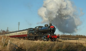 Steam train, The Railways