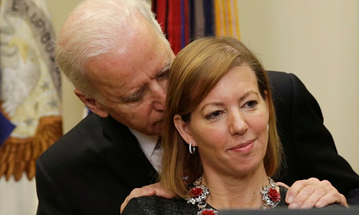 Joe Biden And Why Touchy Feely Men Should Back Off Barbara Ellen Opinion The Guardian
