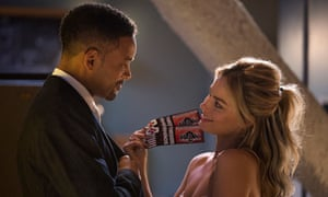 'Kindred criminal spirits': Will Smith and Margot Robbie in Focus.