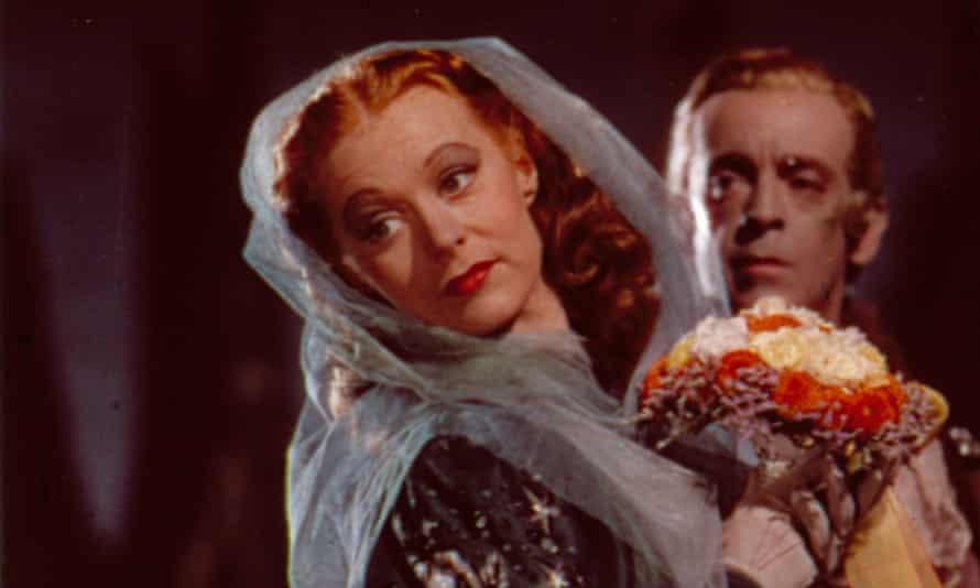 'Ravishing': Moira Shearer and Robert Helpmann in The Tales of Hoffmann .