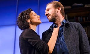 'Rhetoric, banter and inquisition': Indira Varma and Ralph Fiennes in Man and Superman.