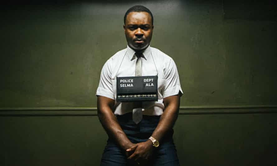 'Charismatic':  David Oyelowo as  Martin Luther King in Selma.