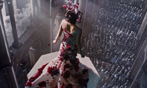Queen bee: Mila Kunis is high and mighty in Jupiter Ascending.