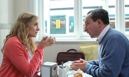 'Painfully melancholic': Joanne Froggatt and Eddie Marsan in Still Life.