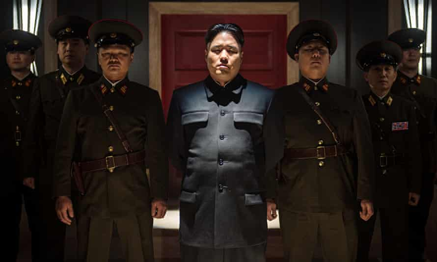 'Basic democratic right': North Korea lampooned in The Interview.