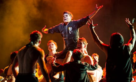 A scene from Matthew Bourne's 2014 dance version of Lord of the Flies.