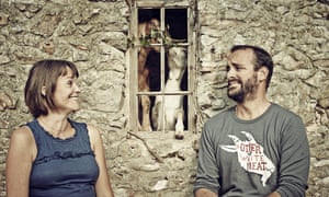 Sushila Moles and James Whetlor of kid goat supplier Cabrito Goat.