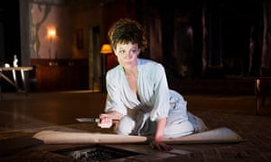 'Animality': Helen McCrory as Medea in the National Theatre's production which ran from July to Sept