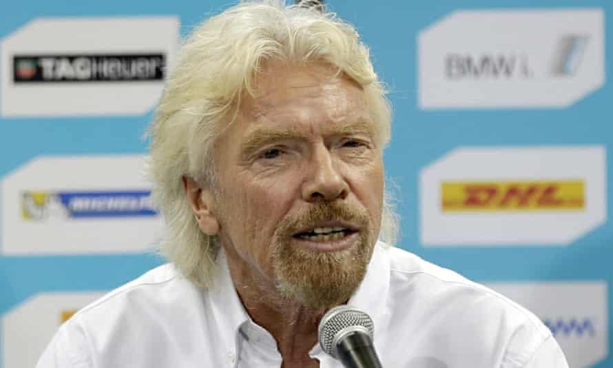 'Principal beneficiary': Billionaire businessman Richard Branson.