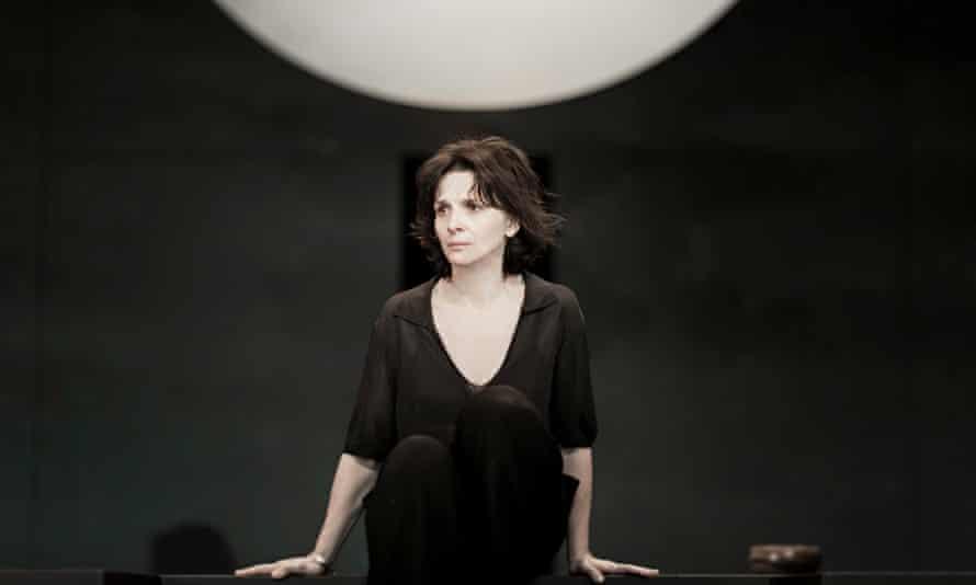 Juliette Binoche's Antigone