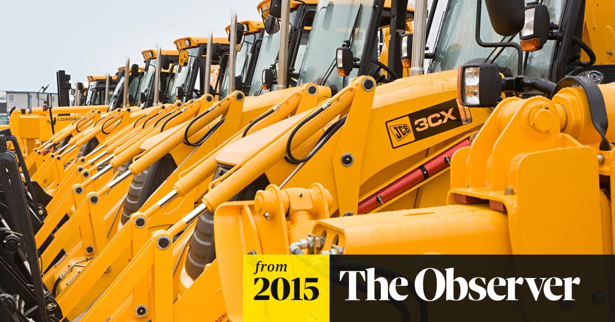 JCB: Britain's yellow digger, a money machine scooping up sales of