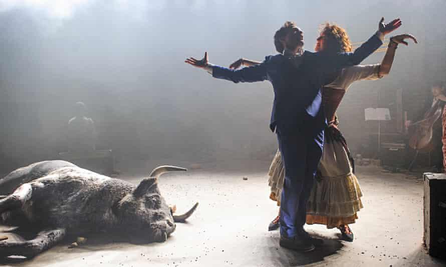 'A depth-charge to the theatre': John Light and Viktoria Vizin in Carmen Disruption at the Almeida.