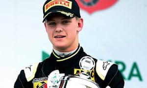 Mick Schumacher, son of former F1 champi