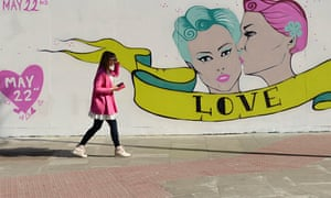 Pro gay marriage referendum mural, Dublin
