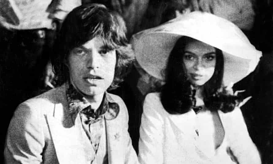 Mick and Bianca Jagger, Archive