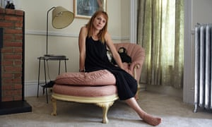 Dolly Wells photographed in her Brooklyn home for