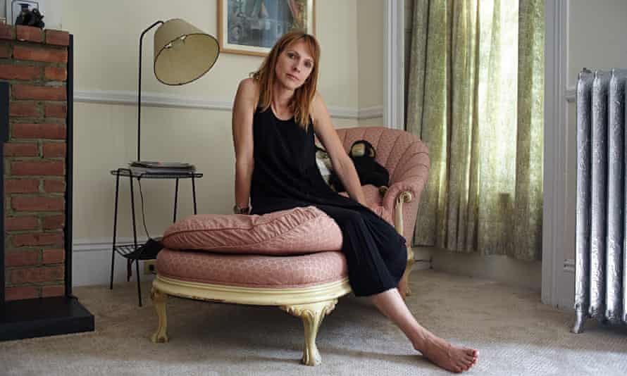 Dolly Wells photographed in her Brooklyn home forthe Observer New Review.
