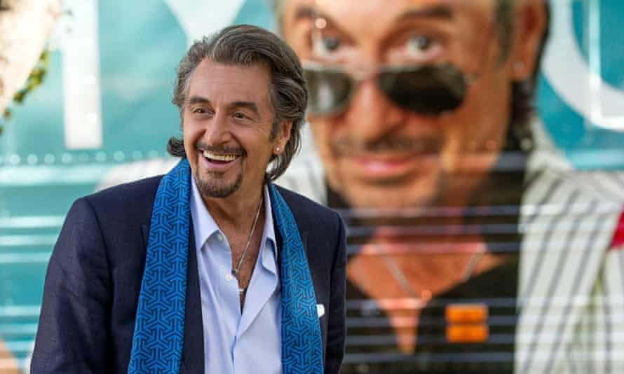 'Genial and winning': Al Pacino as cabaret singer Danny Collins.