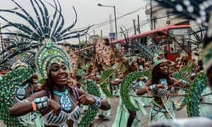 Lagos Carnival in Nigeria