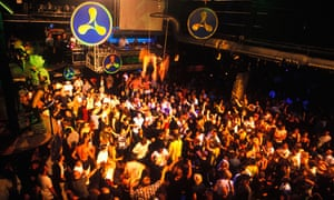 New rave: Cream at Amnesia in Ibiza. The Liverpool club launched its first night on the island in 19