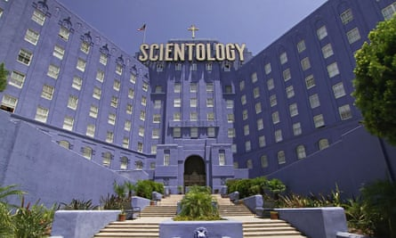 Hubbard central: the Church of Scientology building in Los Angeles.