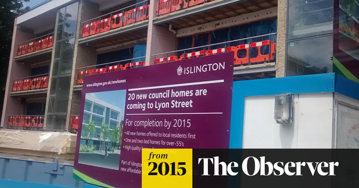 Tory right-to-buy plan threatens mass selloff of council
