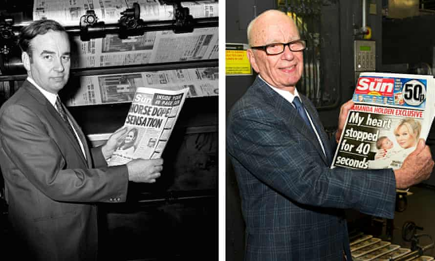 Rupert Murdoch and the Sun