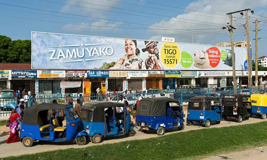 Dar es Salaam in Tanzania