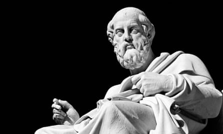 A man's world: a marble statue of Plato at the Academy in Athens.