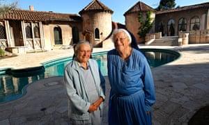 Sisters Catherine and Rita  at the convent in Los Feliz last week.