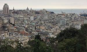 Genoa city centre