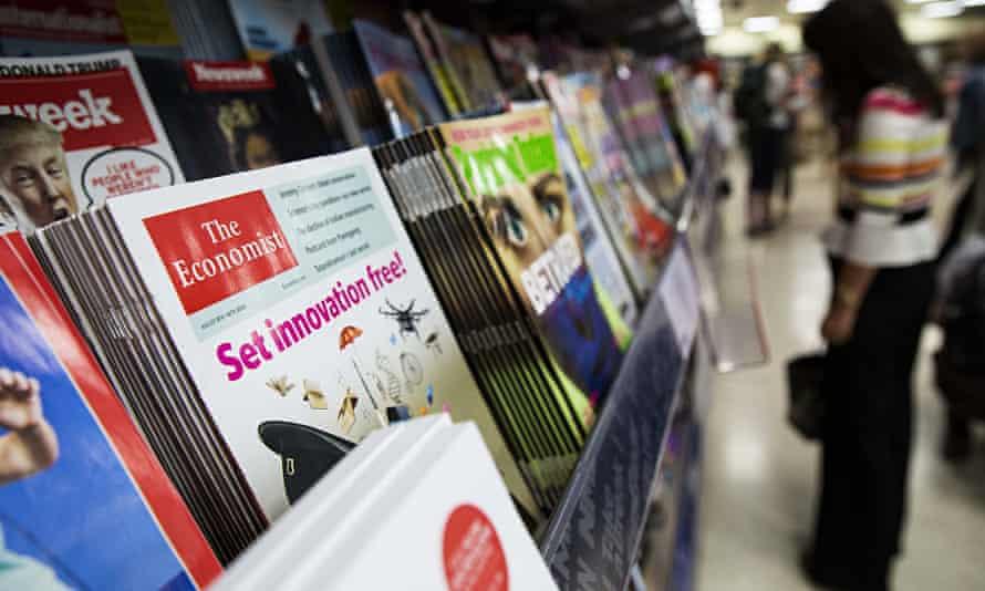 A copy of the Economist magazine