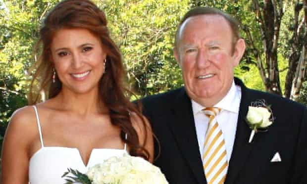 'Secret's out!' Andrew Neil tweeted about his wedding to Susan Nilsson in the south of France last w