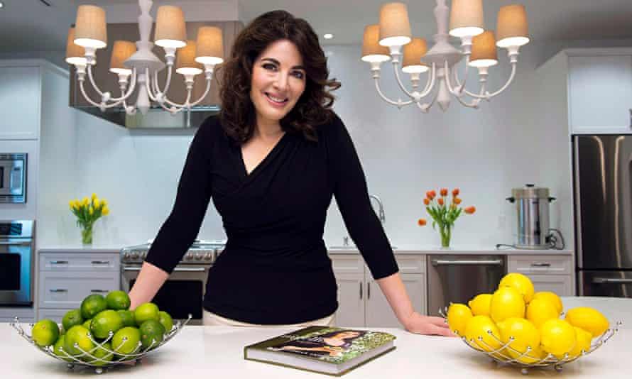 Oven-ready? Nigella Lawson promotes a cookbook.