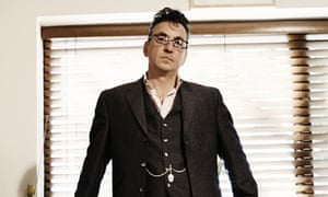 Richard Hawley photographed at home by Steve Gullick for the Observer.