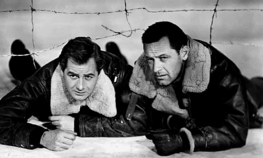 'Hungry, frustrated men': Don Taylor and William Holden in Stalag 17.