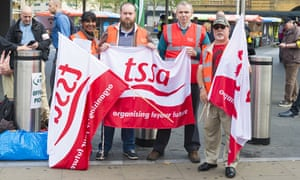 Commuter misery in London as striking tube workers shut down network