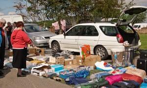 Car boot sale, John Naughton