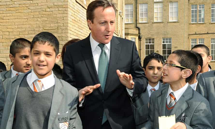 David Cameron at Kings Science Academy