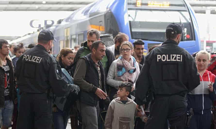 Refugees, Munich, Astrid Ziebarth