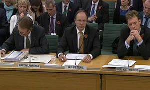 Energy chiefs Martin Lawrence, Ian Peters, Neil Clitheroe and Ramsay Dunning
