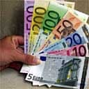 The new euro notes.