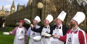 MPs' pancake race