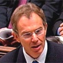 Blair addresses the Commons