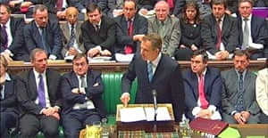 Tony Blair opens the Iraq debate